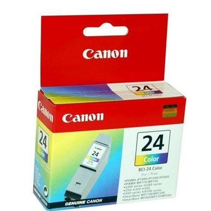 Зображення Картридж Canon BCI-24 color для S200/200х/300/330Photo, i250/i320/i350/i450/i455/475D, SmartBase 190/200/MP360/370/390, PIXMA iP1000/iP1500/iP2000, PIXMA MP110/MP13